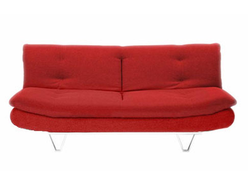 Sof cama contempor neo vancouver rojo liverpool es parte - Sofa cama rojo ...