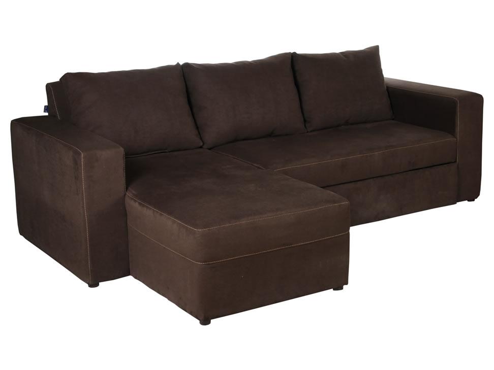 Comprar sof cama izquierdo contempor neo chocolate godiva - Compro sofa cama ...