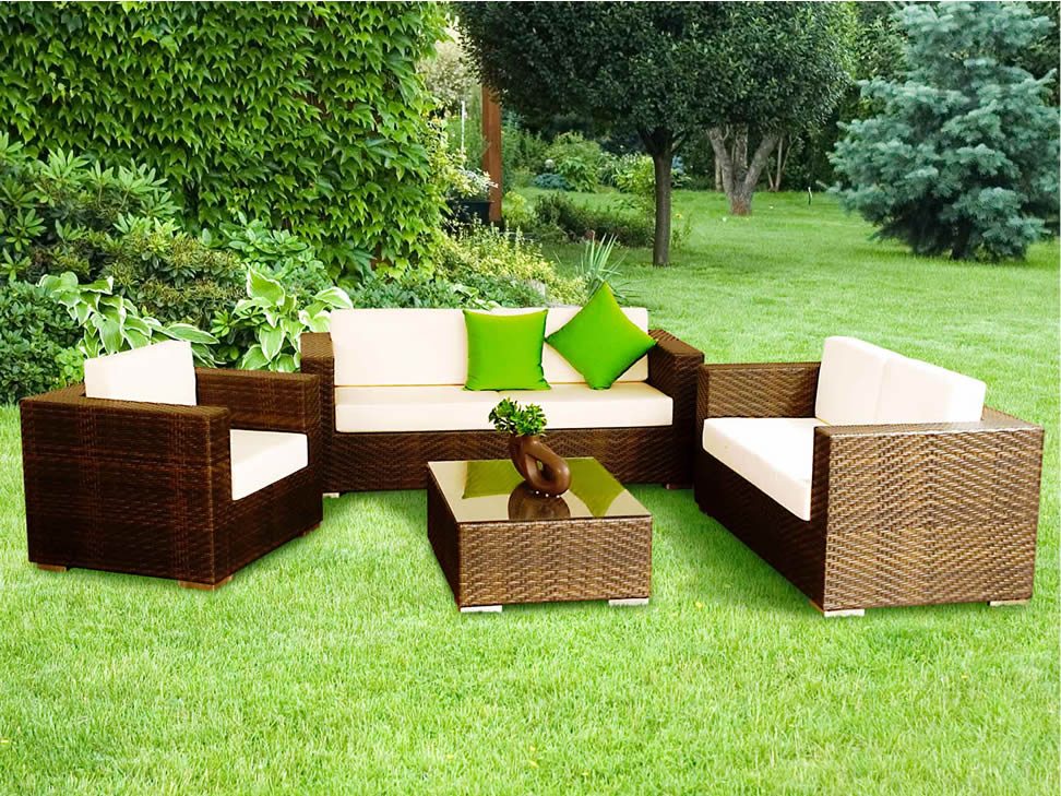 Ofertas de muebles de jardin interesting este conjunto de for Ofertas de muebles de jardin